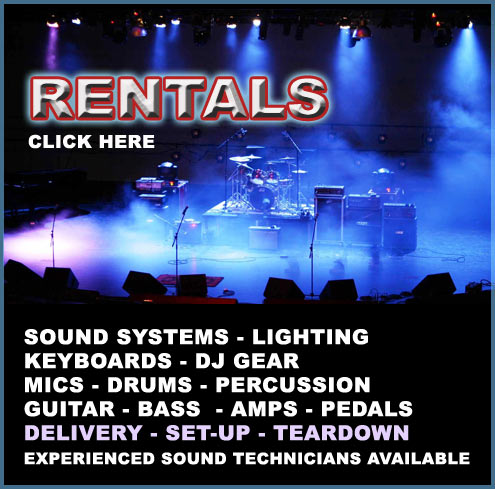 Discount Music Center   Guitars, Amplifiers, Percussion